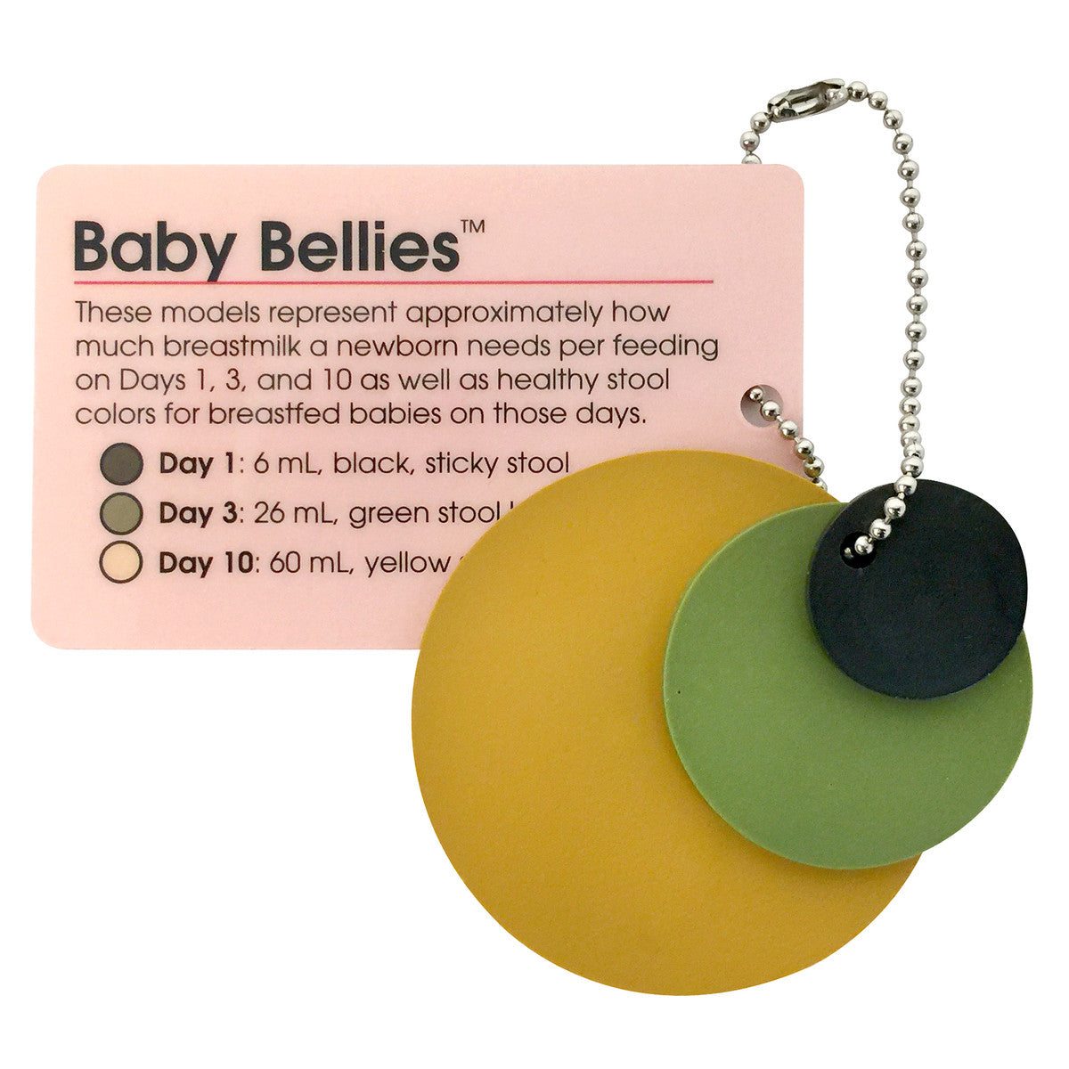 Baby Bellies Keychain Display