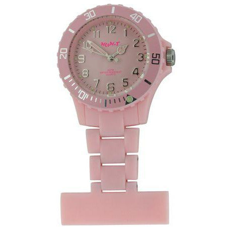 Neon Fob Watch - Baby Pink