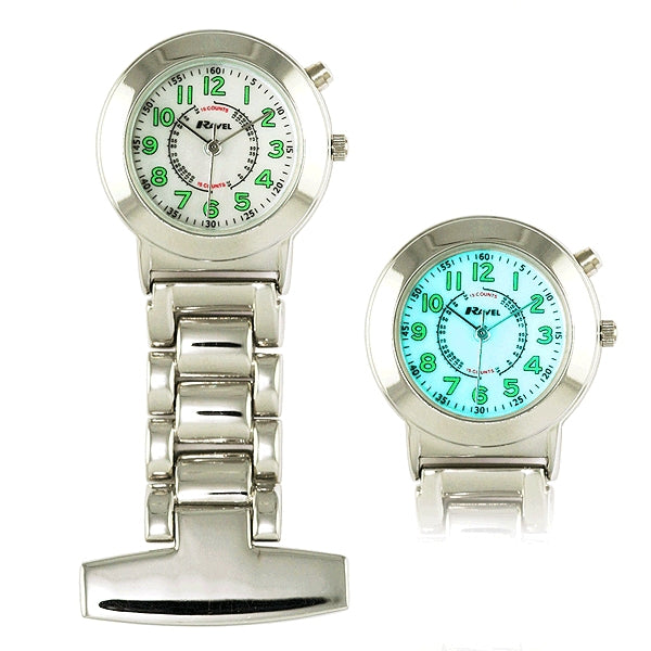Ravel Fob Watch with Backlight
