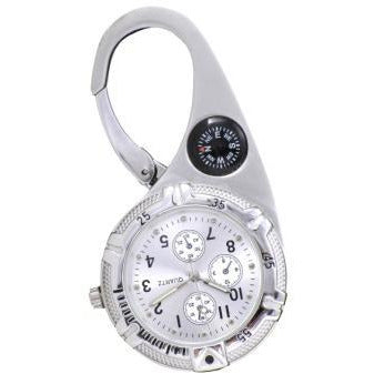 Paramedic Clip Watch Silver