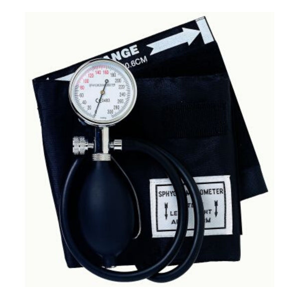Black One Handed Sapphire Aneroid Sphygmometer