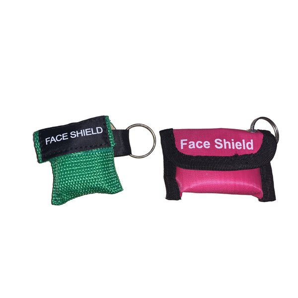 Key Ring Face Shield