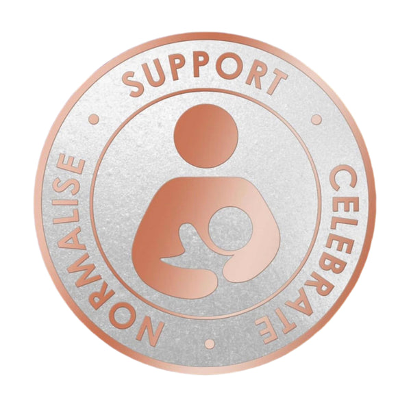 Normalise & Support Breastfeeding Pin Badge