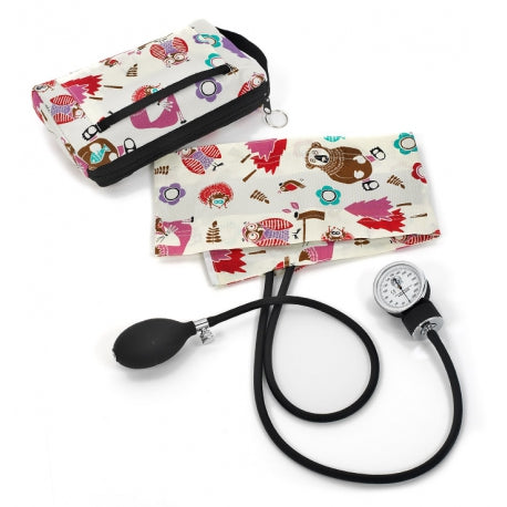 Cream Woodland Animal Premium Sphyg and Case