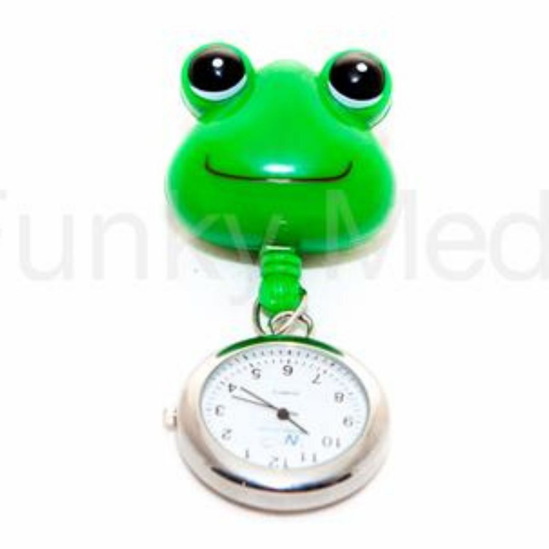 Frog Retractable Pull Reel Watch