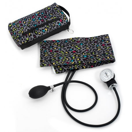 Grey Leopard Premium Sphyg with Carry Case