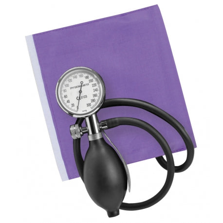 Purple One-Handed Sapphire Aneroid Sphygmometer