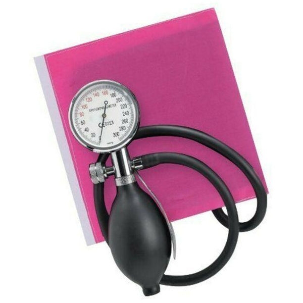 Pink One-Handed Sapphire Aneroid Sphygmometer