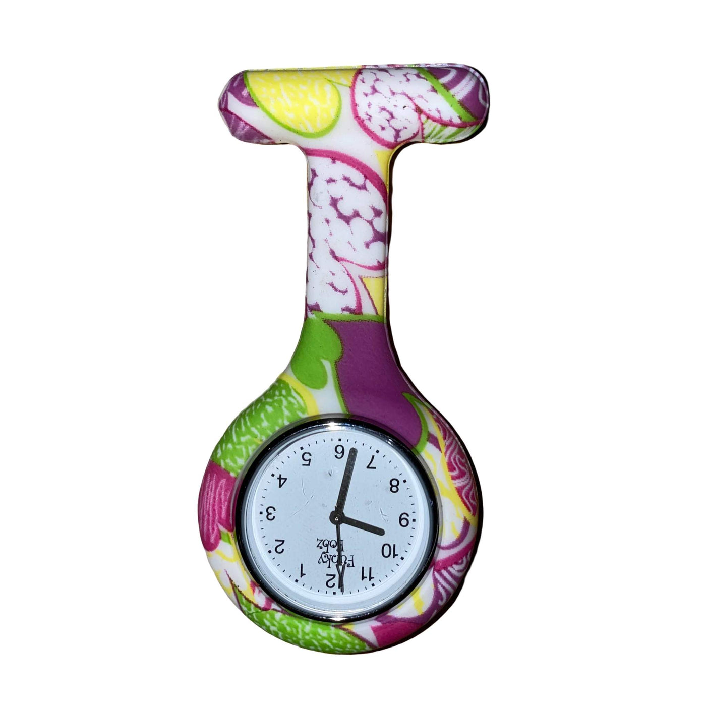 Tutti Fruity Silicone Fob Watch