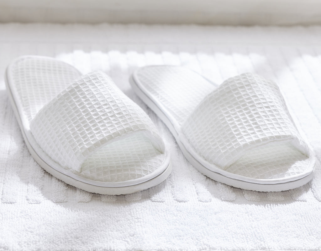 Hospitality Hotel Spa Slippers The Distinguished Guest Vacation Rental  Supplies