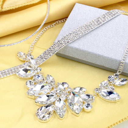 Rhinestone Collar Necklaces