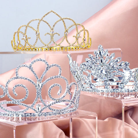 "Tiaras & Crowns Up to 3"" Tall"