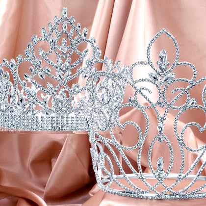 "Tiaras & Crowns Over 6"" Tall"