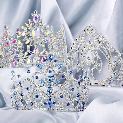 "Tiaras & Crowns Up to 6"" Tall"