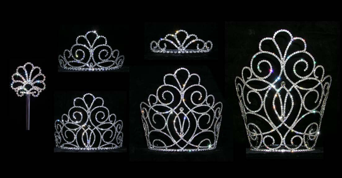 Titan's Queen Pageant Crown Collection