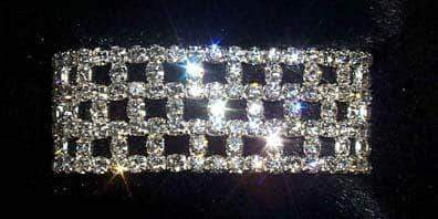 Bracelets #12163 Checkerboard Stretch Bracelet
