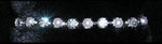 Bracelets #14674 - Single Row Alternating Rhinestone and Pearl Bracelet