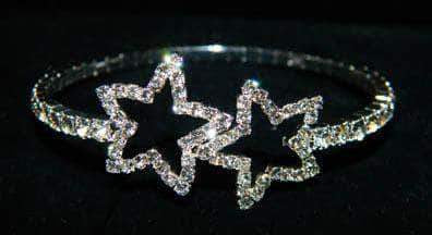 Bracelets #15638 - Open Star Single Coil Bracelet