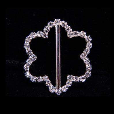 Buckles & Slides #16049 Scalloped Belt Buckle - 1""