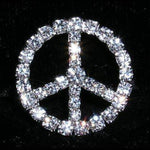 "Buckles & Slides 3/4"" Peace Sign Buckle - #14378"