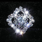 Buttons - Other Shapes #15219 - Filigree Crystal Button