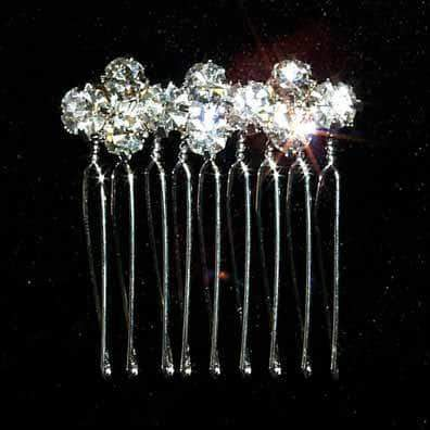 Combs #12699 Chaton Diamond Shape Comb