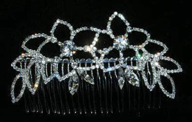 Combs #14828 - Meadow Princess Side Hair Comb