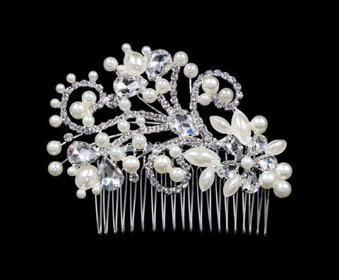 Combs #16558 - Floral Breeze Comb Side Hair Comb
