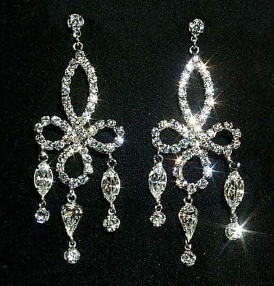 Earrings - Dangle #12321 Elegant Drop Chandelier Earring