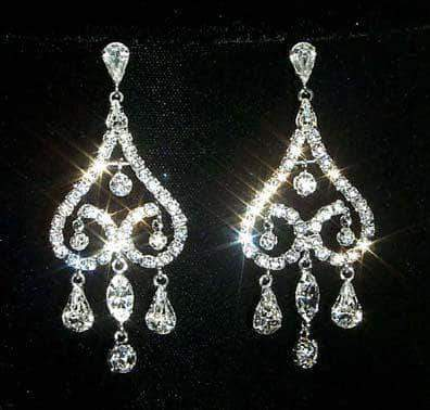 Earrings - Dangle #12327 Romantic Chandelier Earring