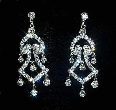 Earrings - Dangle #12330 Western Tower Chandelier Earring