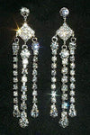 Earrings - Dangle #12343 Triple Dangle Duster Earrings