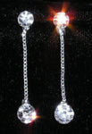 Earrings - Dangle #13965 - Double Drop by Chain Earring