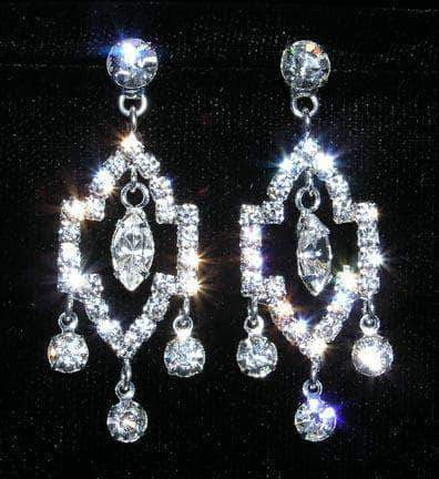 Earrings - Dangle #14008 - Taj Mahal Earrings