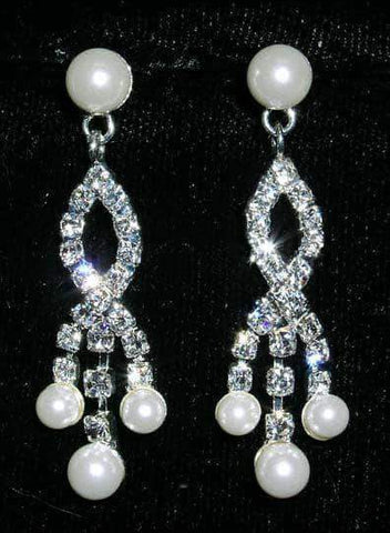 Earrings - Dangle #14017 - Crosswed Waterfall Earrings