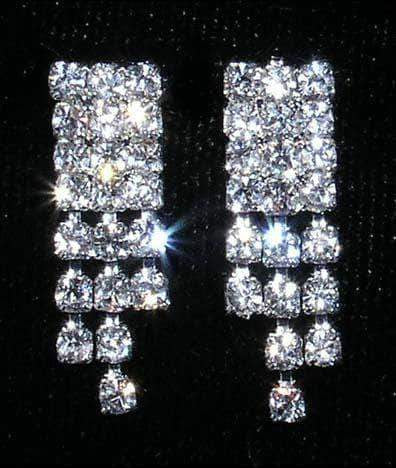 Earrings - Dangle #14134 - Crystal Rivet Earring