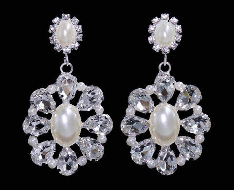 Earrings - Dangle #16556 - Victorian Ball Drop Earrings