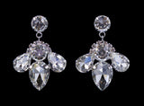 Earrings - Dangle #16688 - Massive Rhinestone Drop Earrings