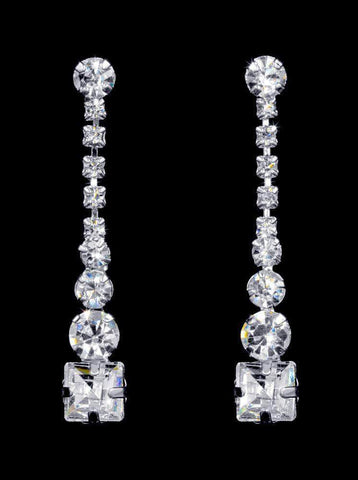 Earrings - Dangle #16932 - Elegant Drop Earrings - 1.5""