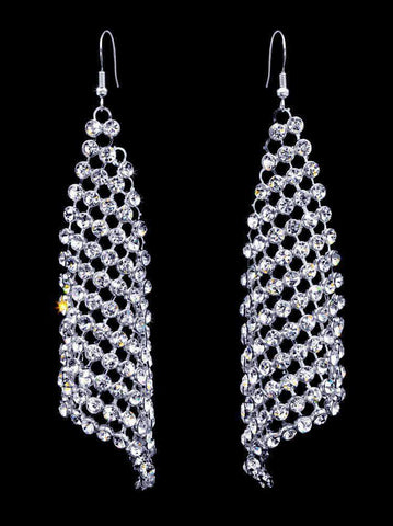 Earrings - Dangle #16948 - Cascading Waterfall earrings