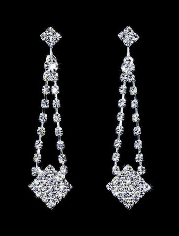 Earrings - Dangle #16998 - Rhinestone Dangle Earring