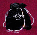 Jewelry Pouches Jewelry Pouch or Sash Bag - Black