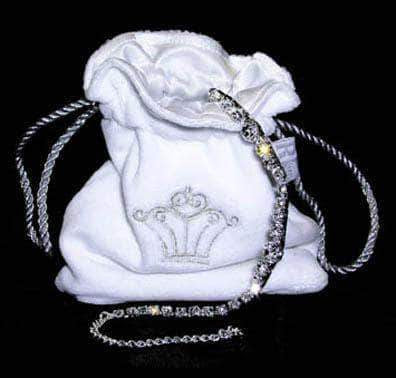 Jewelry Pouches Jewelry Pouch or Sash Bag - White