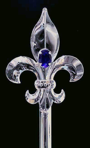 Men's Crowns and Scepters #13236 Men's Scepter - Silver