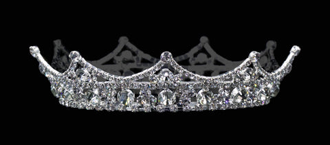Men's Crowns and Scepters #15779 - Unisex Sovereign Fixed Crown with Rings