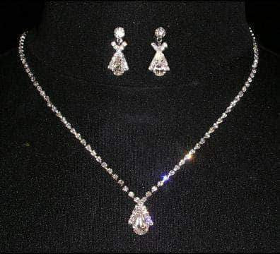 Necklace Sets - Low price #14412 - Lover's Cross Neck and Ear Set