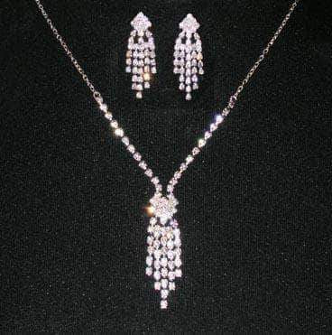 Necklace Sets - Low price #14435 - Flapper Neck and Ear Set