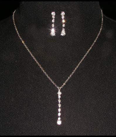 Necklace Sets - Low price #14656 - Simplicity Necklace and Earring Set