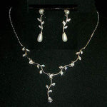 Necklace Sets - Low price Leaf Neck and Ear Set #11704
