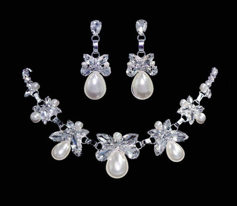 Necklaces - Midsize #16563 - Linked Elegance Necklace and Earring Set